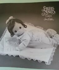 """Precious Moments porcelain doll """"His Word Lifts Me Up"""""""