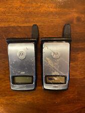 i830 Nextel Motorola Phones Lot Of 2 W/ Clip