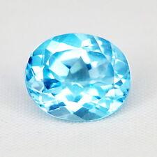 TOP TOPAZ : 6,06 Ct Natürlicher Blau Topas aus Brasilien