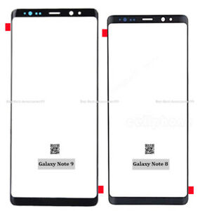 Front LCD Outer Touch Glass Screen Lens For Samsung Galaxy Note 8 Galaxy Note 9