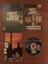 Grand Theft Auto III 3 The Xbox Collection Complete With Poster And Map