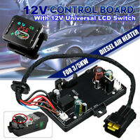 12V Motherboard Controller Board +LCD Display For 3KW 5KW Car Air Diesel Heater