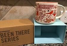 "STARBUCKS ""BEEN THERE SERIES"" Mississippi 14 fl.oz. Coffee Cup NIB"
