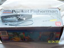 Vintage 1995 Popeil'S Pocket Fisherman Spin Cast Outfit - Never Used!