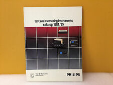 Philips 1984 / 1985 Test + Measuring Instruments Catalog
