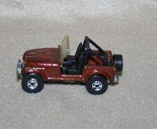 Vintage Hot Wheels Jeep CJ-7 - 1981