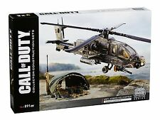 Call of Duty Mega Bloks Anti Armor Helicopter Collector Construction Set (NEW)