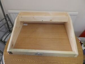 TABLE TOP WOODEN POTTING TABLE GREENHOUSE 0R GARDEN POTTING SHED