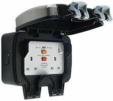 BG WPL22RCD IP66 Weatherproof Outdoor Switched 13 Amp Power Sockets with RCD