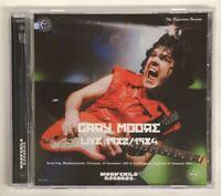 Gary Moore Live 1982 1984 DVD 1 Disc 12 Tracks Germany England Moonchild Music