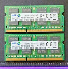Samsung 16Gb Kit 2Rx8 DDR3 PC3L-12800S RAM SODIMM Laptop/AIO Memory Ship From NJ