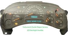 2003 - 2006 GMC Sierra Instrument Cluster Repair Service