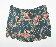 NOW Brand Geo Floral Print Side Pocket Shorts Size 10 BNWT #SN96