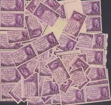 {BJ Stamps}  946  Joseph Pulitzer, Publisher.  3¢ Stamps 100  mint stamps.  1947