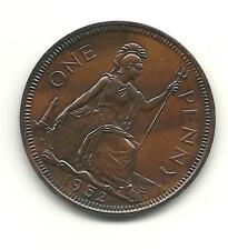 UNIQUE 1952 Penny .Toned..
