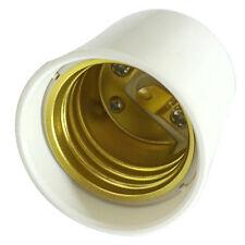 2Pc GU24 to E27/E26 LED Light Bulb Lamp Holder Adapter Socket Easy to Use