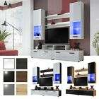 Wall Unit Entertainment Media Center Modern Living Room Furniture TV Stand Alice