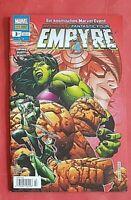 Empyre Avengers/Fantastic Four Feb/2021 Marvel Panini Comics NEU
