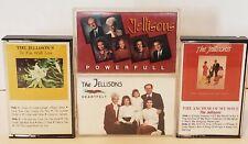 Jellisons Lot Of 4 Gospel Cassette Tapes Religious Christian Music 90s Rare