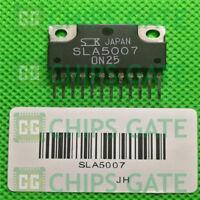 2PCS SANKEN SLA5007 SIP N-channel + P-channel H-bridge