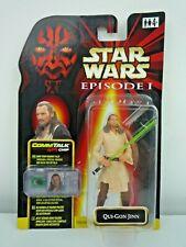 Star Wars episodio 1 Qui-Gon Yinn con Luz Sable Comm Tech Figura De Chip