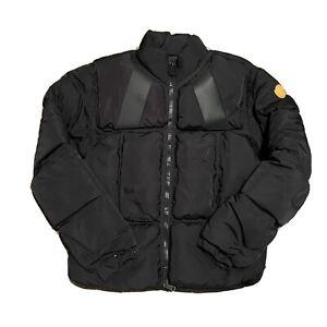 Moncler Goose Down Zip Up Jacket Size 4 Mens Black