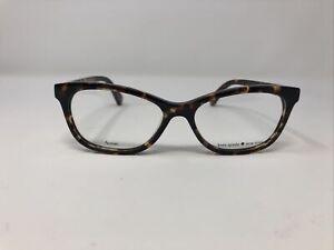 kate spade Eyeglasses Frames AMELINDA 086 50-15-140 Tortoise Full Rim /610