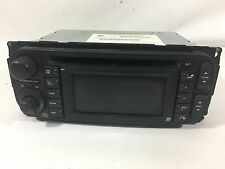 2002-2007 Dodge Chrysler Jeep CD Navigation GPS radio w/ steering wheel controls