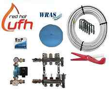 water underfloor heating 3 port 300m kit up to 60m2 with Digital A rated pump
