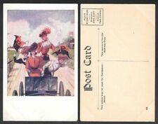 Old Postcard - Princeton University - Penant, Pretty Ladies