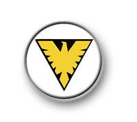 "PHOENIX / 1"" / 25mm pin button / badge / Marvel / Jean Grey / Stan Lee / X-Men"