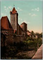 Nürnberg. Luginsland. PZ vintage photochromie, Deutschland photochromie, vinta