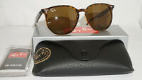 Ray Ban New Sunglasses Havana Dark Brown RB4306 710/73 54 19 145