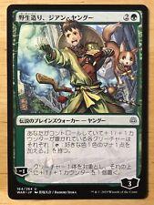 Jiang Yanggu, Wildcrafter Japanese War of the Spark Alternate Anime Art mtg NM