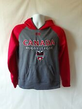 Under Armour Canada rugby league men's pullover hoodie size S.Laid flat the...