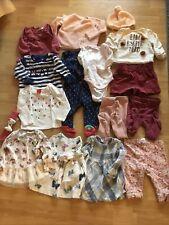 16 tlg.Baby Bekleidungspaket 62/68, Erstling, Kleidungspaket, Mädchen