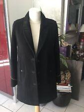 Manteau veste caban THE  KOOPLES taille 36 noir