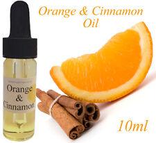 Pure Orange & Cinnamon Oil 10ml For Aromatherapy, Massage CHEAPEST EBAY FREE P&P