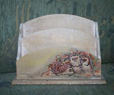 Briefbox Letterbox Box Kiste Briefablage Briefhalter Brief  Holz bemalt Igel
