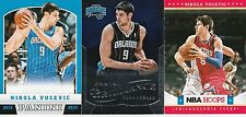 ROOKIE INVESTMENT LOT (100) NIKOLA VUCEVIC 2012-13 BRILLIANCE HOOP PANINI BV$120