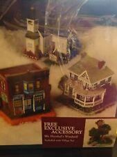 Liberty Falls Village item No. 2003 Set Of 3 plus Bonus Accessory