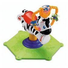 Mattel Fisher-Price Hipp Hopp Zebra Schaukeltier Baby und Kleinkindspielzeug