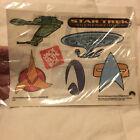 Star Trek Generations 1994 Jack in the Box Tattoo Sheet Sealed Trekkie Gift