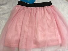Girls Boutique 3T 4T 5 Light Pink Tulle  Skirt NEW NWT Holiday Tutu 100
