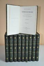 Alfred de Musset Oeuvres complètes 1866 10/10 28 gravures Bida très bel état