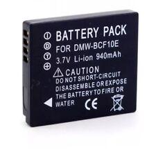 DMW-BCF10E/CGA-S009E Camera Battery for Panasonic Lumix DMC-FT4 FT2 FP8 F3 F2