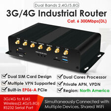 Dual SIM 4G LTE Industrial WiFi Wireless Router WSIM Card Slot Cat. 6 EP06-A