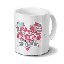 TRI Tasse it Herzhenkel Kaffeetasse Teetasse Herzform Henkeltasse Becher