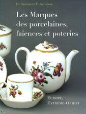 Signatures et Marques des Porcelaines Faiences Poteries