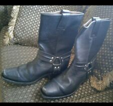 Leather Boots 100% real strong material,Motorcycle,rocker or just to show off